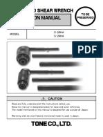 Instruction Manual S20HA S24HA