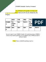 mandated power schedule-destiny arrowood