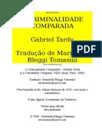 A Criminalidade Comparada - Gabriel Tarde Htm