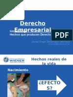 Clases Derecho Empresarial 1 y 2