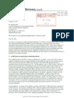 REI EXXON's Chalmette Refining LLC Resonse Jan 2010 45854693