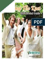 Bridal Guide 2016 Edition