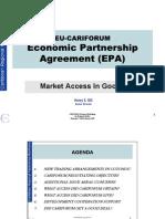 Cariforum-EC EPA Negotiations - Market Access (Henry Gill)