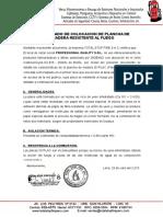 Certificado de Plancha de Madera Resistente Al Fuego