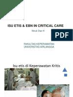 EBN Critical