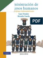 Administracin de Recursos Humanos - G. Dessler y R. Varela