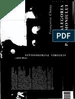 Alegoria Patrimoniului - F. Choay