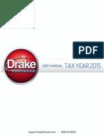 Drake Software User's Manual 2015