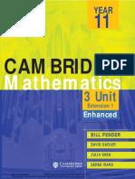 Cambridge 3 unit Mathematics