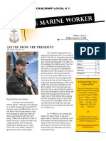 The Marine Worker VI