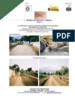 CBR PLUS proyecto Autlán camino hacia Las Lagunillas