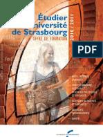Universite de Strasbourg Plaquette Offre Formation 2010-2011 01