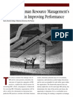 Measuring Human Resource Managements Eff