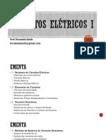 Circuitos Eletricos I AULA1