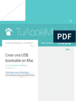 Crear Una USB Booteable en Mac - TuAppleMundo
