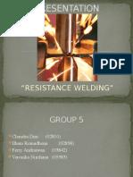 Resistance Welding Fix
