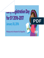 DepEd Early Registration Day