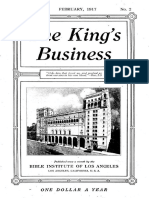 The King's Business - Volume 8, Issue 2 - February 1917