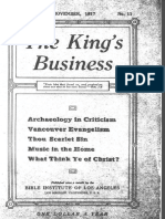 The King's Business - Volume 8, Issue 11 - November 1917