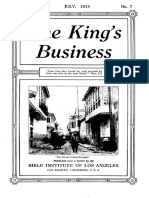 The King's Business - Volume 9, Issue 7 - July 1918