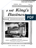 The King's Business - Volume 9, Issue 3 - March 1918