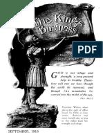 The King's Business - Volume 9, Issue 9 - September 1918