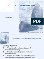international accounting Chap 001