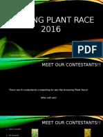 amazing plant race