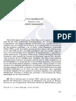 Julia Barragán Dialoga Con J. Harsanyi. Revista Telos (1996)