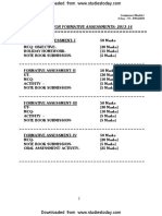 CBSE Class 6 English Collection of Assignments for 2014
