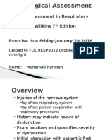 Wilkins 6 - Neurological Assessment - Assignment (2).pptx