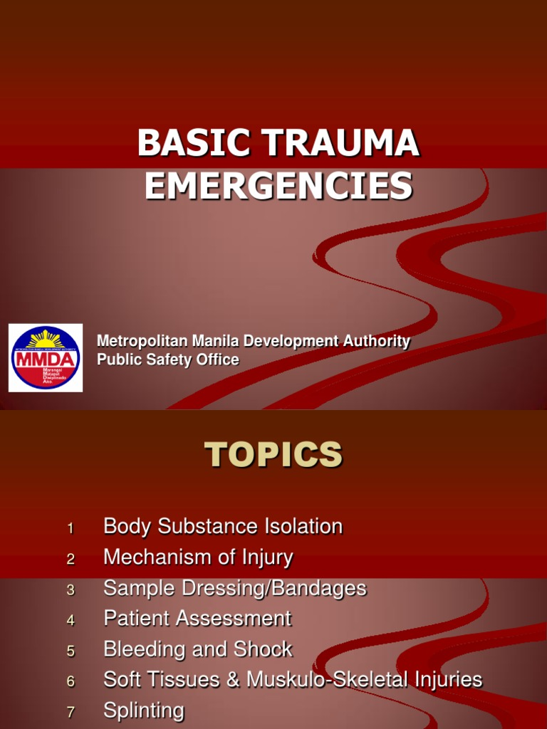 an analysis of the bodys response to trauma and emergency