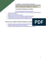 Guide Utilisation Admission Ligne Franc Cfc