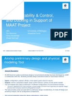 Design, Stability & Control, And Docking in Support of MAAT Project