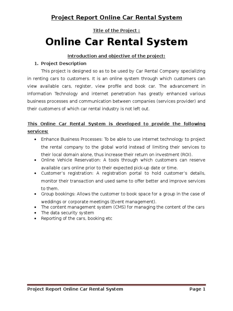 car rental project Online vehicle rental system information technology ieee project topics, it base paper, write software thesis, mini project dissertation, major synopsis, abstract.