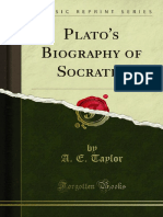 Plato's Biography of Socrates - A. E. Taylor.pdf