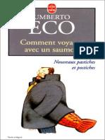 Eco Umberto Comment Voyager Avec Un Saumon 1997