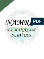 Catalog Namria