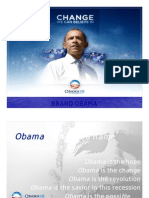 Obama the Revolutionary Advertising Campaign
