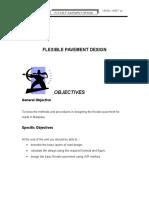 Flexible Pavement Design