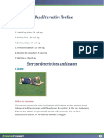 Preventative Exercises for IT Band