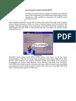 Apakah Teknologi UEFI Dan Perbezaannya Dengan Teknologi BIOS