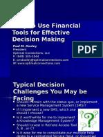 Financial Tools Presentation