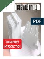 Transpares Ltd Profile