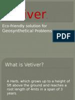 Features & properties of vetiver zizonoids