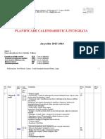 Planificare Calendaristica Cls I