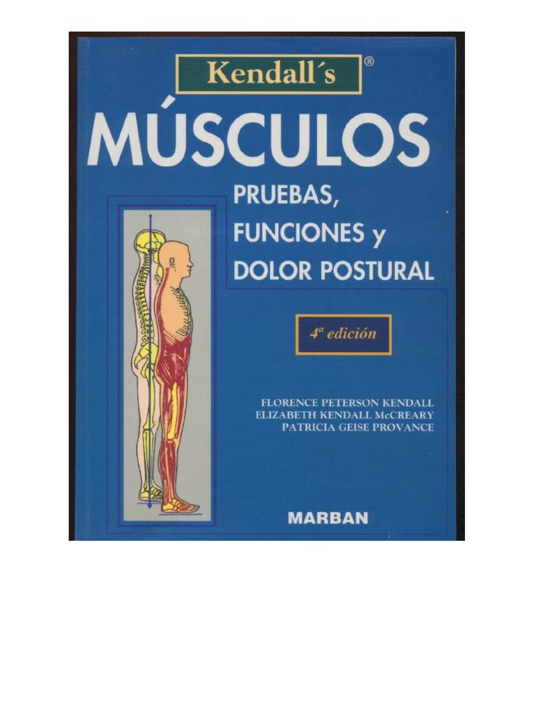 Kendall\'s Músculos, pruebas, funciones y dolor postural 1