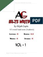 IELTS Writing Vol 1