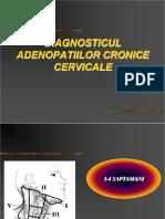 Diagnosticul Adenopatiilor Cronice Cervicale