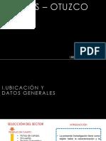 Analisis Urbano Callao